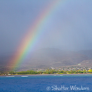 Shutter Wonders photography  - Molokai rainbow